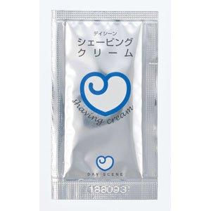 画像1: デイジーン シェービングクリーム 4gパウチ  4000個 1個あたり@8.1円(税込)